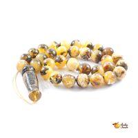 "Amber Rosaries ""Large Rounds"" Medium Beads"