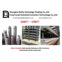 Silicon Carbide Beam for Ceramic Furnace refractory kiln furniture supplier