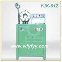 (6-51mm) Hose Working YJK-51Z Hydraulic Crimping Machine thumbnail image