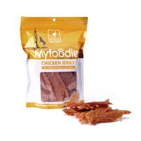 Myfoodie All Natural Tasty Chicken Jerky Premium Dog Treats Chews 16oz
