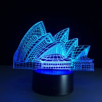 Landscape LED Decoration RGB LED Lights table lamps