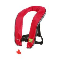 Personalized inflatable life jacket for unisex
