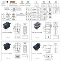 Rocker Switch industrial switch
