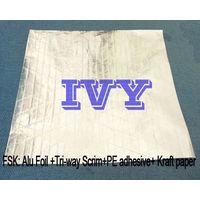Single Sided Aluminum Foil Scrim Kraft Paper
