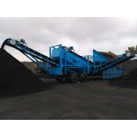 Model 1600 High Efficiency Portable Coal Crusher Max outlet 500Ton/Hour Max Breaking Diameter 100cm