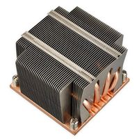 Intel CPU embeded stack fin Aluminum heat sink with pipe