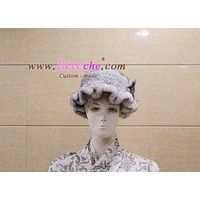 sell whole america & euro mink cap 100% handwork ,custom made coat products