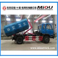 dongfeng 4x2 hook lift garbage truck for sale thumbnail image