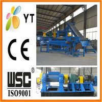 Old tyre machine for rubber powder with top quality