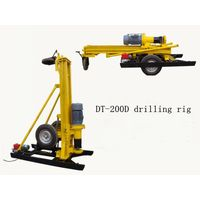Hard rock drilling rig, DTH drilling rig, air compressor drilling machine