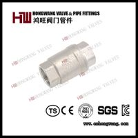 Stainless Steel Industrial H12 Vertical Swing Check Valve Control Valve thumbnail image