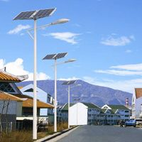 Professional Design Economical Type 9m Pole 30W Solar LED Light Street Light