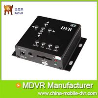 1 Channel Mini Mobile SD DVR for Car/Bus Security System / Vehicle Security Solutions with Motion De