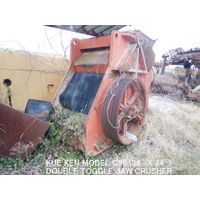 "KEMCO KUE KEN TYPE MODEL C95 (36"" x 24"") DOUBLE TOGGLE JAW CRUSHER"