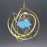 Free Design Logo Metal Craft Christmas Ornament