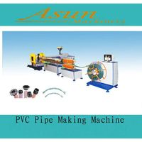 PVC Spiral Steel Wire Reinforced Pipe Making Machine thumbnail image