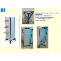 triangular display rack