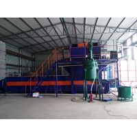 thermosetting polystyrene coating machine from China