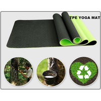 HuiHua Thickened 4 mm Double-Layer TPE Yoga Mat