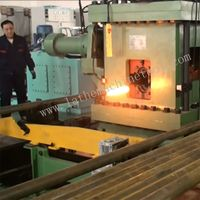 Automatic control Tube upsetter for Upset Forging of oil pipe end