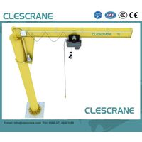 CJZ Series floor mounted jib crane hoist