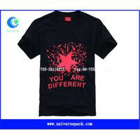 New style rubber  printed men's t-shirt