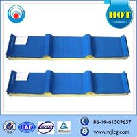 PU/polyurethane sandwich panel for prefab house