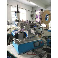 semi aumatic flat bottle labeling machine