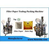 automatic tea bag packing machine for herbal filter paper tea bags thumbnail image