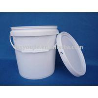 white paint bucket