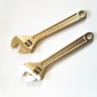 explosion proof tools 12inch adjustable wrench thumbnail image