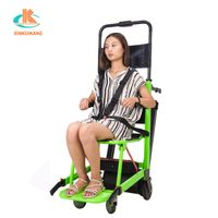 Old people up and down stairs electric crawler climbing staircase machine wheelchair stair climber thumbnail image