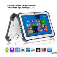ST935 window10/Android rugged tablet pc with barcode scanner/RFID reader/fingerprint