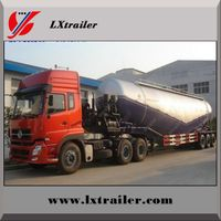 HOT SALE 3 axle bulk cement semi trailer