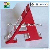 Hot sale illuminated acrylic letter acrylic from shenzhen supplier