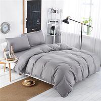 microfiber twin modern bed sheet sets/bedding sets silver thumbnail image
