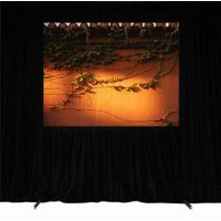Portable Fast Fold Projection Screen with valance