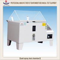 Salt spray test chamber for corrosion testing