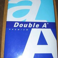 Double A A4 Paper Copy Paper (narumon 1986 group of companies) thumbnail image