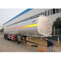 50cbm-52cbm 3axles aluminum alloy gasoline transport semi-trailer