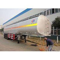 50cbm-52cbm 3axles aluminum alloy gasoline transport semi-trailer