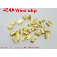 wire buckle, 454A,U type copper wire buckle,electric wire buckle,copper buckle terminal