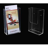 A4 acrylic brochure holder dispaly stand