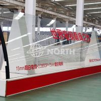 Low Iron/Clear Very Large Over Size Curved Glass Factory In Beijing thumbnail image