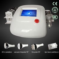 Skin Rejuvenation Beauty Equipment and Vacuum Cavitation Lipo Laser Body Slimming