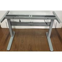 Dual motor three stages height adjustable desk