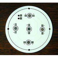 Single-sided aluminum PCB for LED
