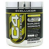 Cellucor C4 Pre-Workout Explosive Energy Supplement, Pineapple - 30-serving canister