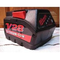 MilWaukee 28V lithium-ion Replacement Power Tool Batterie 2.8Ah thumbnail image