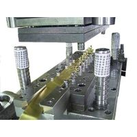 Progressive Die - Brass Stamping Parts, Kinds of Sheet Metal Are Available